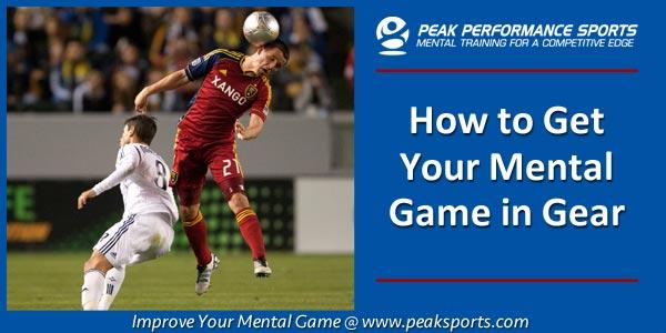 Mental Game in Soccer